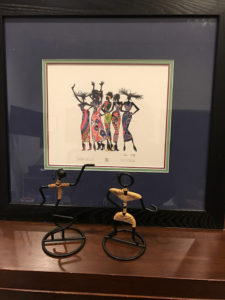 artwork with figurines